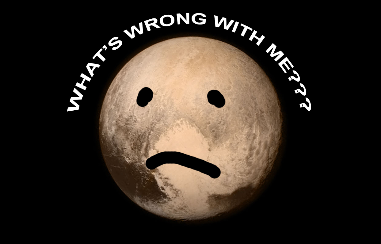 what's wrong pluto