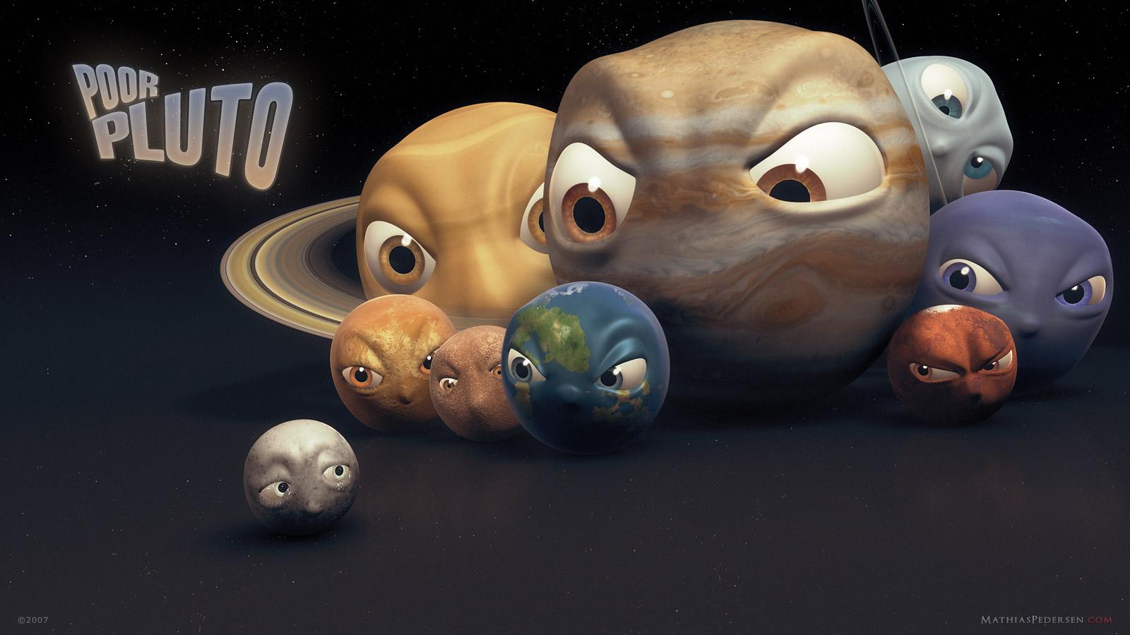 Планеты против Плутона